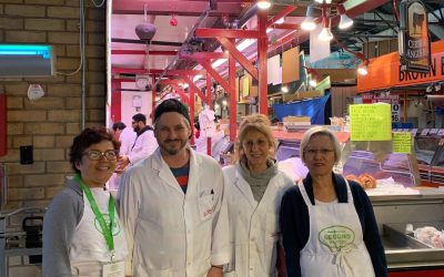 St. Lawrence Market Food Rescue Team Thanks Tracy and Una