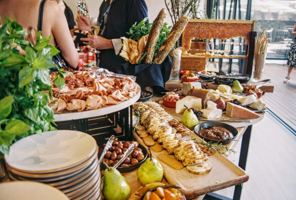 Plate waste at all-you-can-eat buffets and events