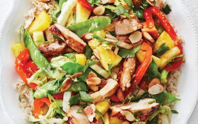 RECIPE: Chicken & Pineapple Stirfry