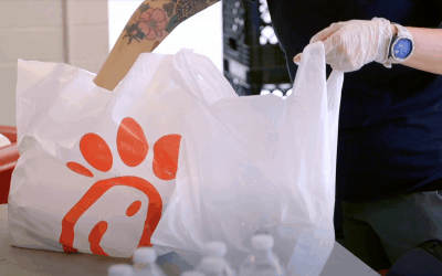 Partnering with Chick-fil-A to fight hunger in downtown Toronto